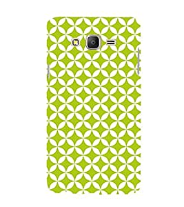 Green Self Design 3D Hard Polycarbonate Designer Back Case Cover for Samsung Galaxy On7 :: Samsung Galaxy On 7 G600FY