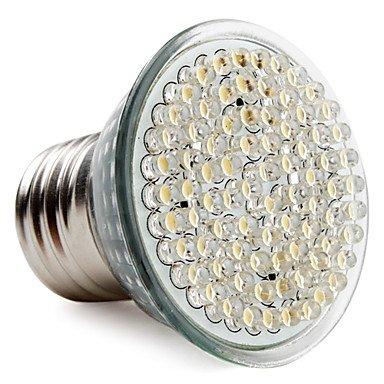 E27 80-Led 400Lm 3-3.5W 2800-3500K Warm White Spot Bulbs (220-240V)