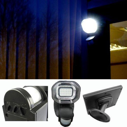 PowerBee ® Lampe solaire avec détecteur de mouvement, 28 LED