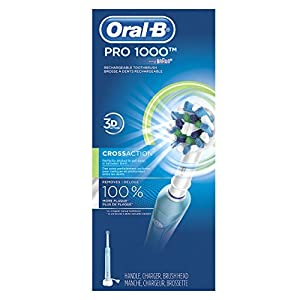 Oral-B Professional Care Pc 1000 Rechargeable Power Toothbrush (White)