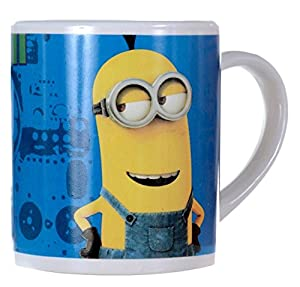 Brand New Despicable Me Minion Blue Kevin Mug 8oz Cup