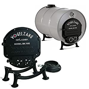 Amazon Com Vogelzang Deluxe Barrel Stove Kit Double
