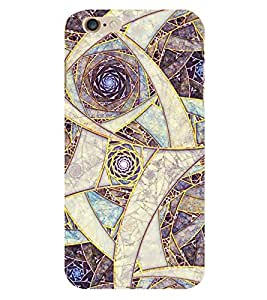 Fiobs Clourfull Parttern Design Phone Back Case Cover for Apple iPhone 6s Plus