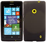 Katinkas Soft Gel Cover for Nokia Lumia 520 - Black
