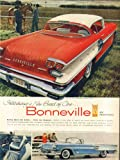 A new breed of cars Pontiac Bonneville Sport Coupe & Convertible ad 1958