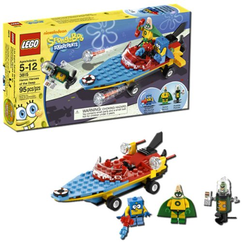 LEGO SpongeBob Heroic Heroes of the Deep 3815 Amazon.com