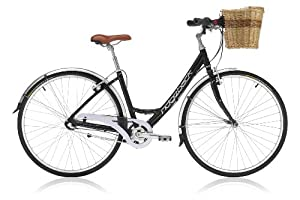 Ridgeback Avenida 3 Open Frame Womens 2012 Hybrid Bike 17 Gloss Black