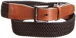 Lyle and Scott Green Eagle Men's LS583C99 Belts - Black, Large