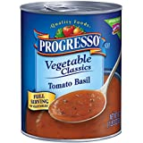 Progresso Vegetable Classics Soup, Tomato Basil, 19-Ounce Cans (Pack of 6)