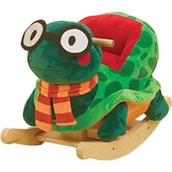 RockAbye Sheldon Turtle Rocker Multi OS -Kids from Rockabye