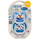 Dr. Browns PreVent Design Pacifier, Boys, Stage 2,  6-12 Months