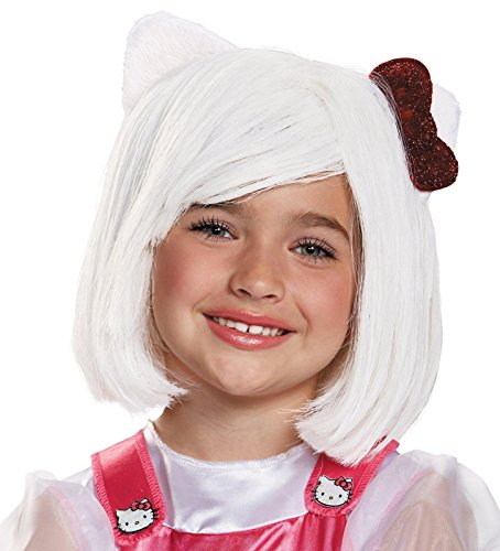 Girls Hello Kitty Wig