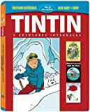 Tintin - 3 aventures - Vol. 6 : Tintin au Tibet + L'Affaire Tournesol + Coke en stock [Combo Blu-ray + DVD]