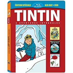 Tintin - 3 aventures - Vol. 6 : Tintin au Tibet + L'Affaire Tournesol + Cok