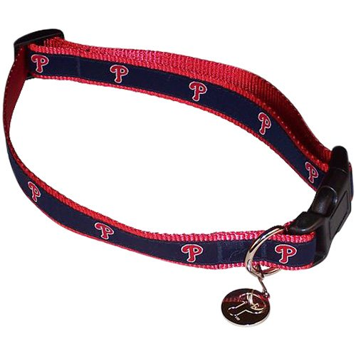 Sporty K9 SK9-547 Medium/Large Philadelphia Phillies Dog Collar at Amazon.com