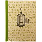 Bird Cage Hardcover Blank Journal