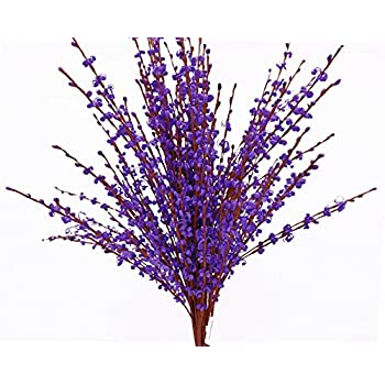 """Misswarm 10 Pieces 29.5"""" Long of Jasmine Artificial flower Artificial flowers Fake Flower for Wedding Home Office Party Hotel Restaurant patio or Yard Decoration(Purple)"""