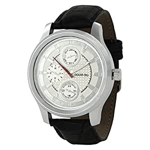 Golden Bell Golden Bell Stylish White Dial Chronograph Look Watch