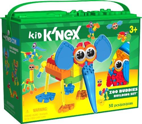 K'Nex Kid - Zoo Buddies Building Set