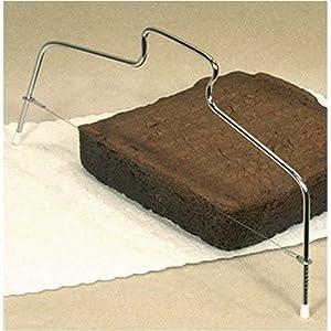 MRS ANDERSON Cake Slicer/Leveler, Silver