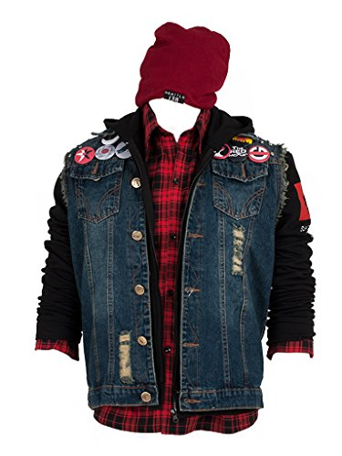 Review (Procosplay)inFAMOUS Second Son cosplay costume mp001648