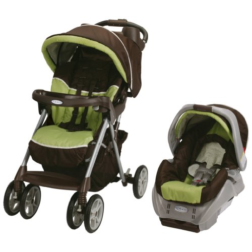 Lowest Prices! Graco Alano Classic Connect Travel System, Go Green