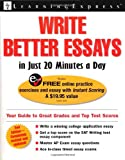 Write Better Essays in Just 20 Minutes a Day deals and discounts