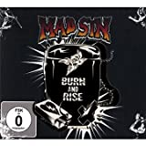 "Burn and Rise-Ltd.(CD+Bon.Dvd)von ""Mad Sin"""