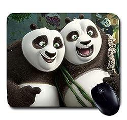 Awwsme 2 Laughing Panda Mousepad