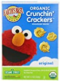 Earths Best Organic Original Crunchin Crackers, 5.3 Ounce Boxes (Pack of 6)