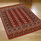 New Traditional Shiraz Rug In Red