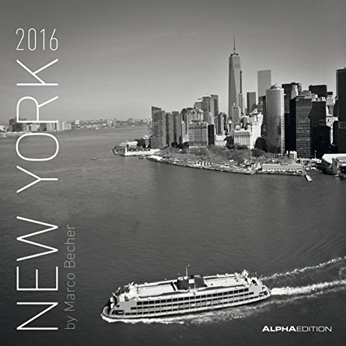 Alpha Edition 160134 New York Calendario da Muro 2016 30 X 60 cm Aperto PDF