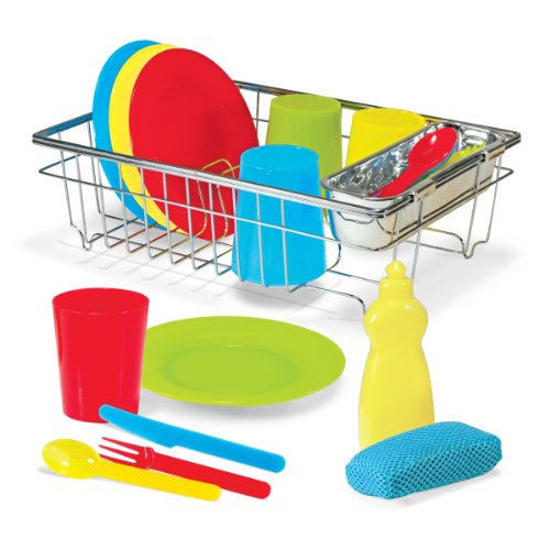 melissa-doug-14282-lets-play-house-wash-and-dry-dish-set