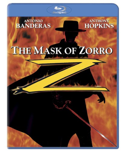 Cover art for  The Mask of Zorro [Blu-ray]
