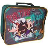 Phineas And Ferb 'Bursting With Plans' Insulated Lunch Bag