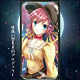 iPhone5/5S用ケース@夜櫻少女(iPhone5/5Sケース) (悠遠幻想夏月団プロジェクト)