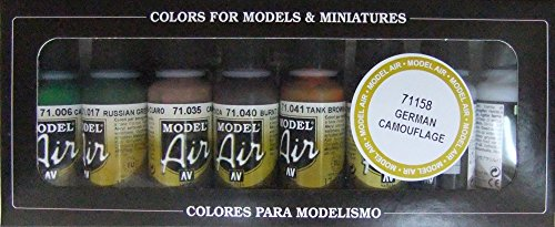Vallejo German Camouflage Model Air Paint, 17ml (Vallejo Model Air compare prices)