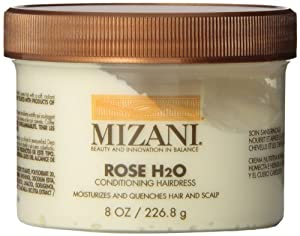 Mizani Rose H2O Conditioning Hairdress Unisex Moisturizer, 8 Ounce