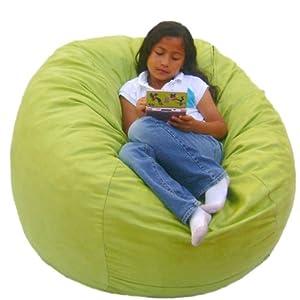 cozy sack 3 feet bean bag chair medium lime kitchen dining. Black Bedroom Furniture Sets. Home Design Ideas