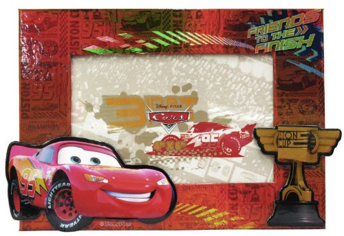 Disney Cars Pressed Paper Picture Frame