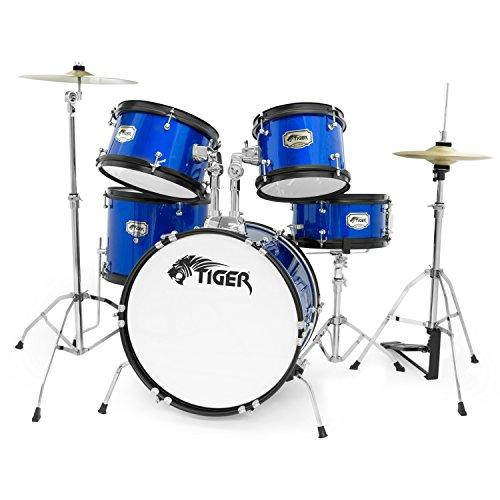 tiger-5-piece-junior-drum-kit-blue