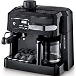 DeLonghi BCO320T Combination Espresso and Drip Coffee- Black made by DeLonghi America, Inc.