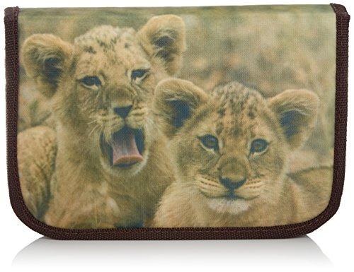 241119 - Schüleretui Tierkinder Löwe 50 teilig