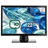 Edge10 W223 22 inch widescreen LCD TFT DVI Monitor - Piano Blackby Edge10