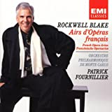 Cover of Rockwell Blake ~ French Opera Arias