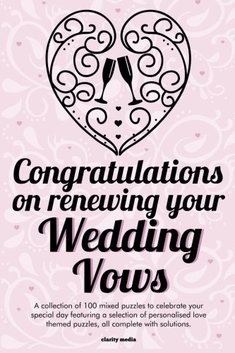 Congratulations On Renewing Your Wedding Vows Puzzle Book PDF