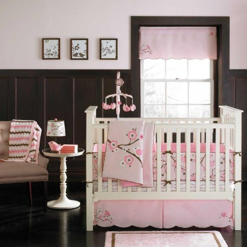 Migi Blossom 4 Piece Crib Bedding Set by Bananafish