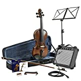 Violon �lectrique 4/4 + Ampli Pack par Gear4Music