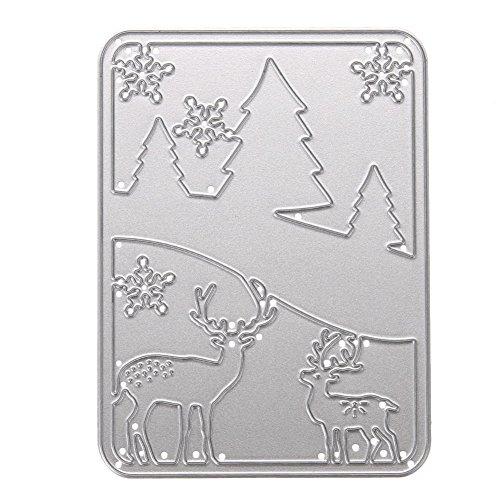 demiawaking-christmas-deer-diy-scrapbooking-album-paper-card-diary-hand-craft-stencil-4