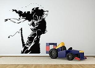 Wall Room Decor Art Vinyl Sticker Mural Decal Afro Samurai Ninja Big Large AS598